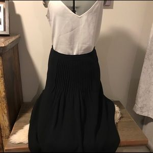 Moschino couture black skirt -sz 12/42 (authentic)